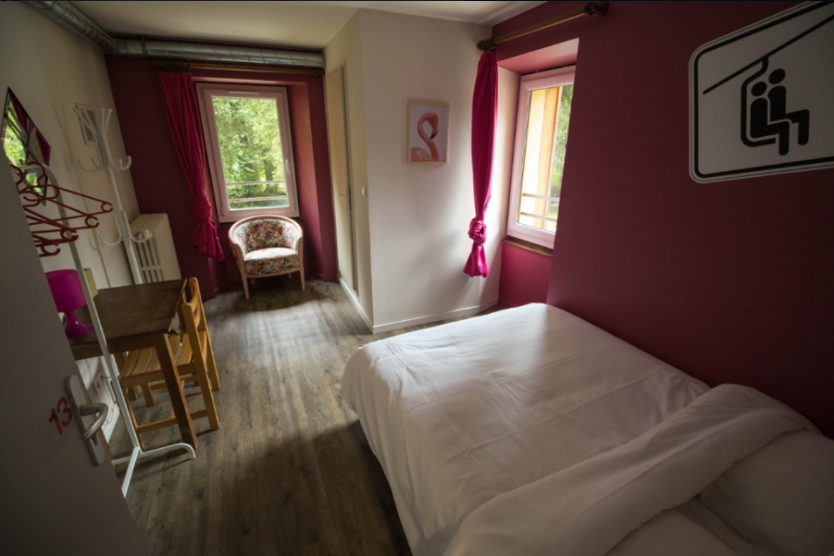 double room private chatel hostel